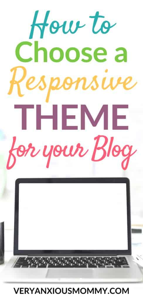 How to Choose the Most Responsive Theme for your Blog. How to set up your blog. how to choose a wordpress blog theme. #wordpressblogtheme #startablog #blogtheme