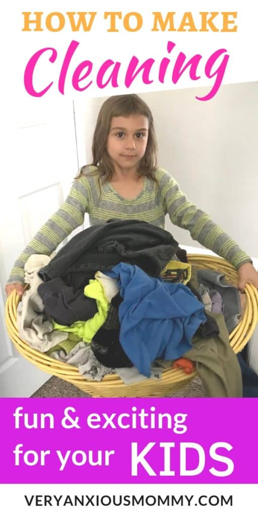 13 Fun Ways To Get Your Kids Excited About Cleaning, make cleaning fun for kids, kids help with cleaning, how to get preschoolers to clean up, how to get child to clean room, how to clean with a toddler, cleaning tips for children.