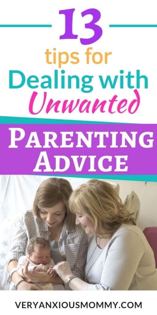 Advice For Parents Of Children Just >> 13 Tips For Dealing With Unwanted Parenting Advice Topwitty