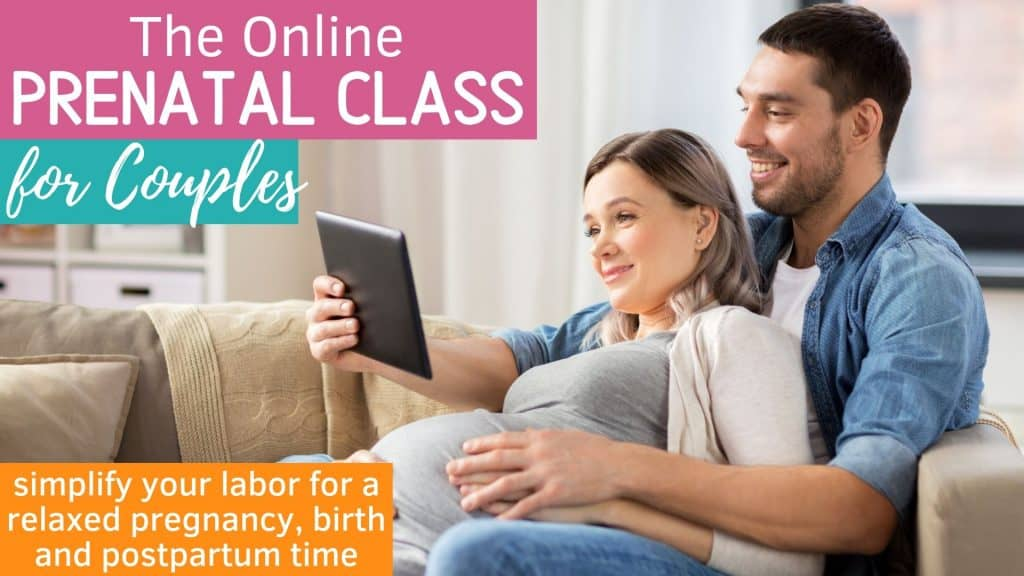 The Online Prenatal Class for Couples