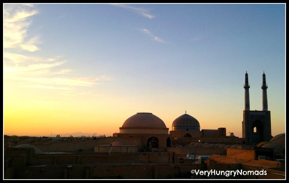 Iran - Sunset in Yazd