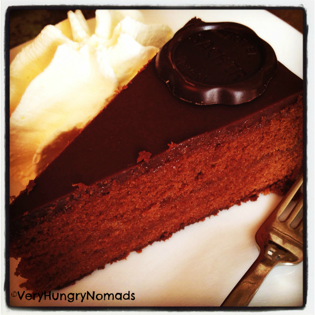 Sacher Torte in Austria