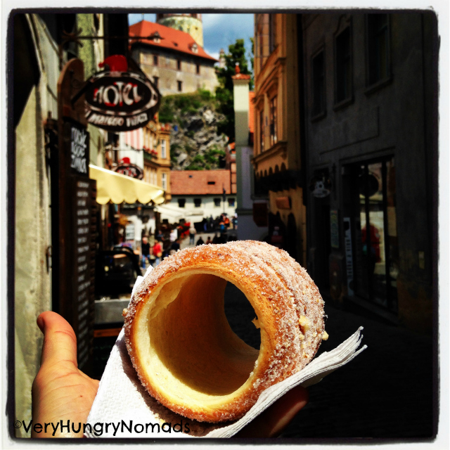 Trdelnik in Czech Republic