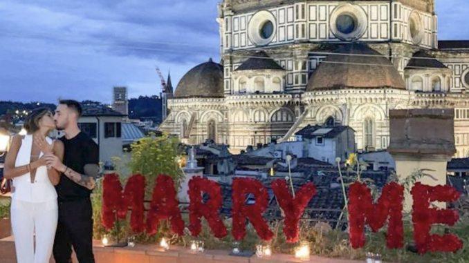 Gaetano Castrovilli e la Miss Italia Rachele Risaliti presto sposi: l'annuncio sui social (VIDEO)