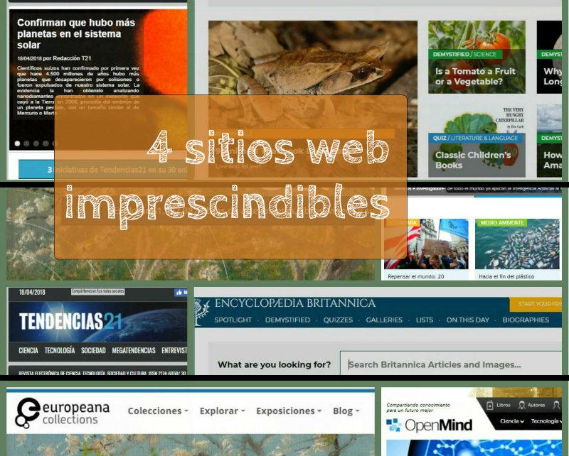 4 sitios web imprescindibles con contenidos para mentes inquietas
