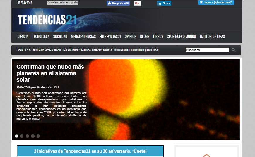 4 webs imprescindibles TENDENCIAS21