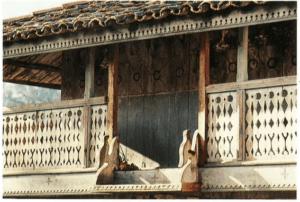 Asturias - decoración hórreo
