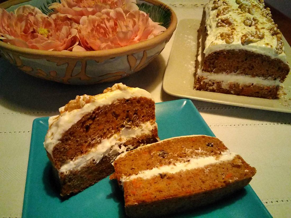 Tarta de zanahoria (II)