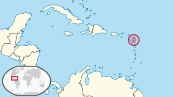 Ubicación Antigua y Barbuda.