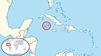 Ubicación Islas Caimán.