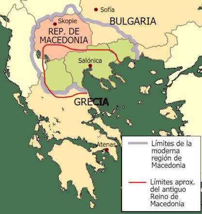 Vista general de Macedonia.