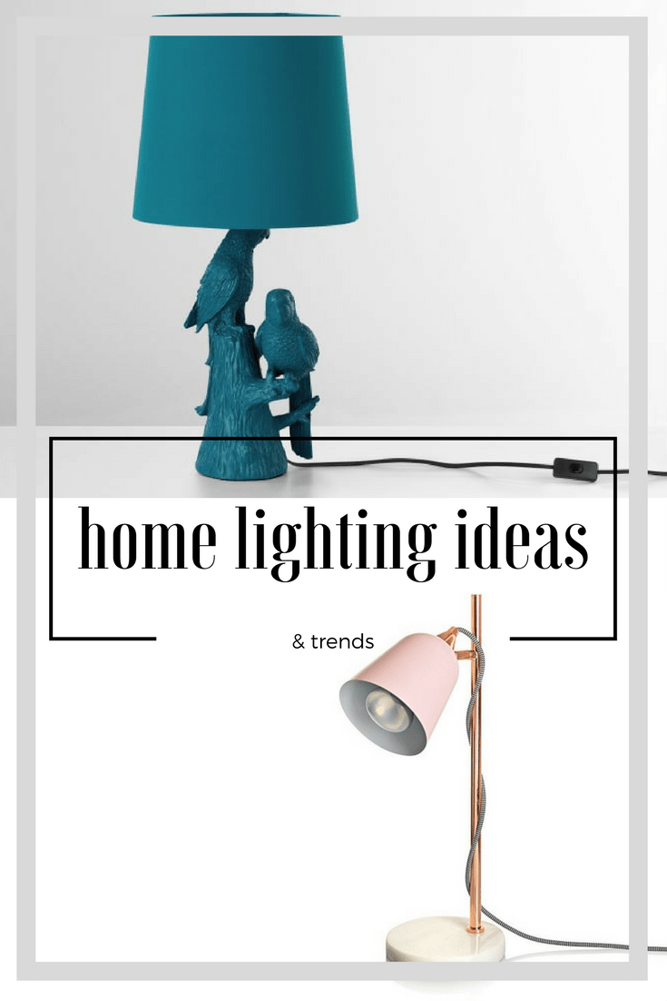Lighting ideas and everything you should know about home lighting
