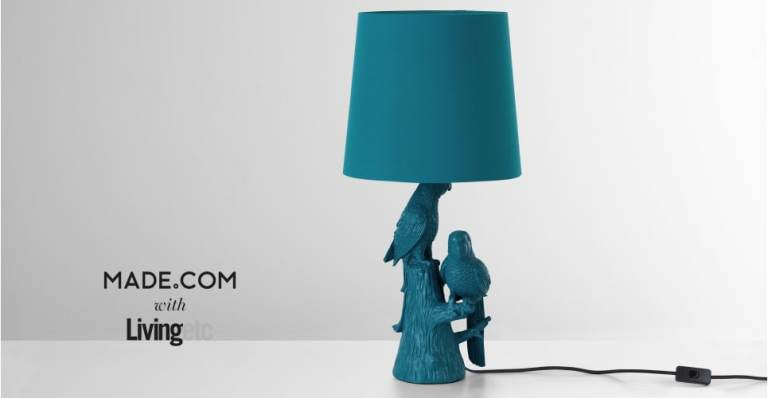 parrot lamp from Made.com