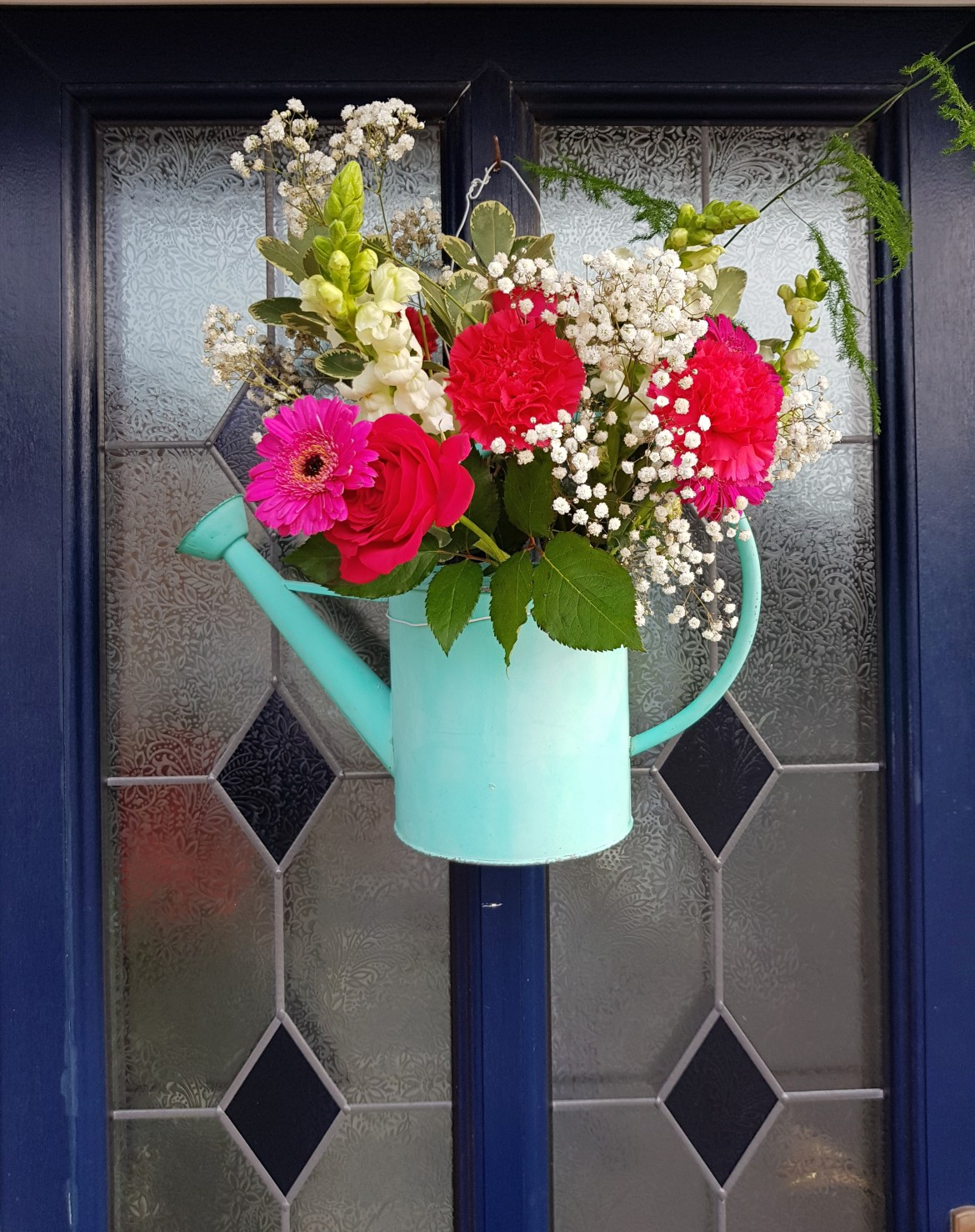 spring door decor
