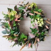 How I've updated the front of our house with few easy DIY's and a simple DIY door wreath