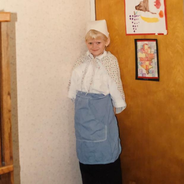 Heidi's Pilgrim Costume