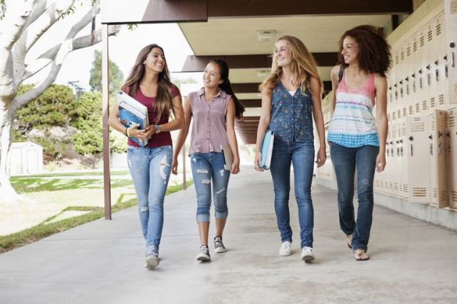 Moving To A New School Can Be Difficult For Teens In High School