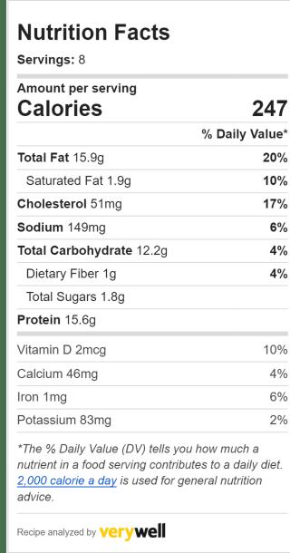 Nutrition Label Embed  2035024522 0f5076ad916941e78216419145bf24b3
