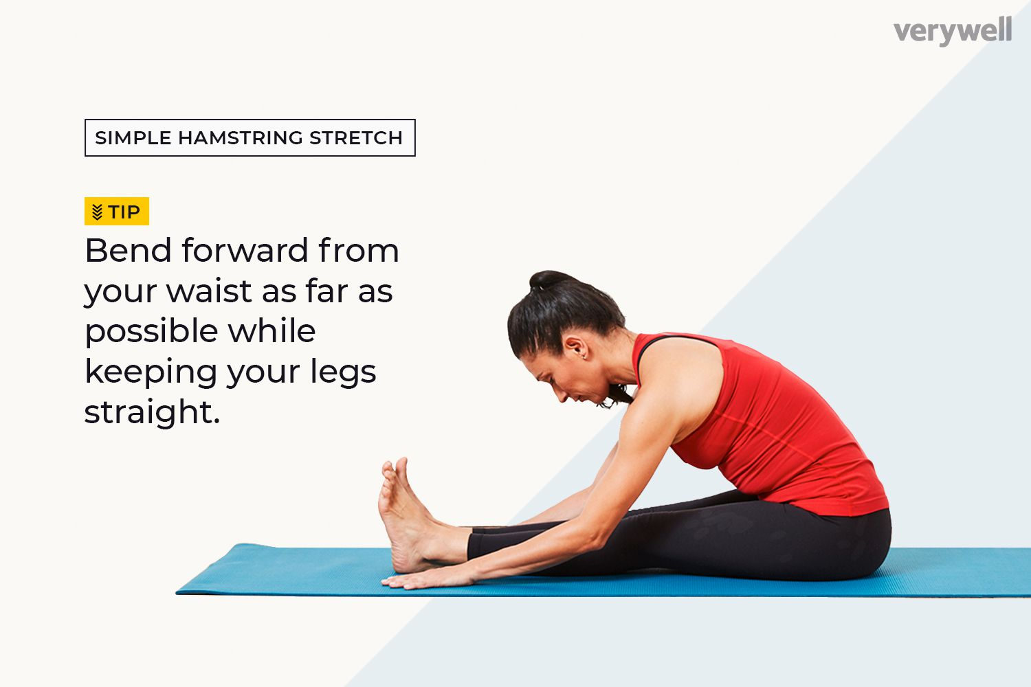 5 Simple Stretches For Tight Hamstrings To Try At Home