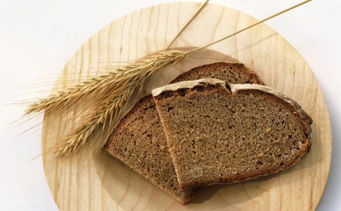 Whole grains may cause bloating.
