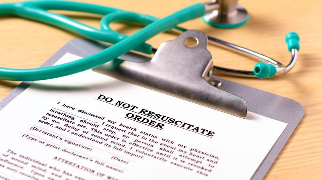 Do Not Resuscitate (DNR) Orders