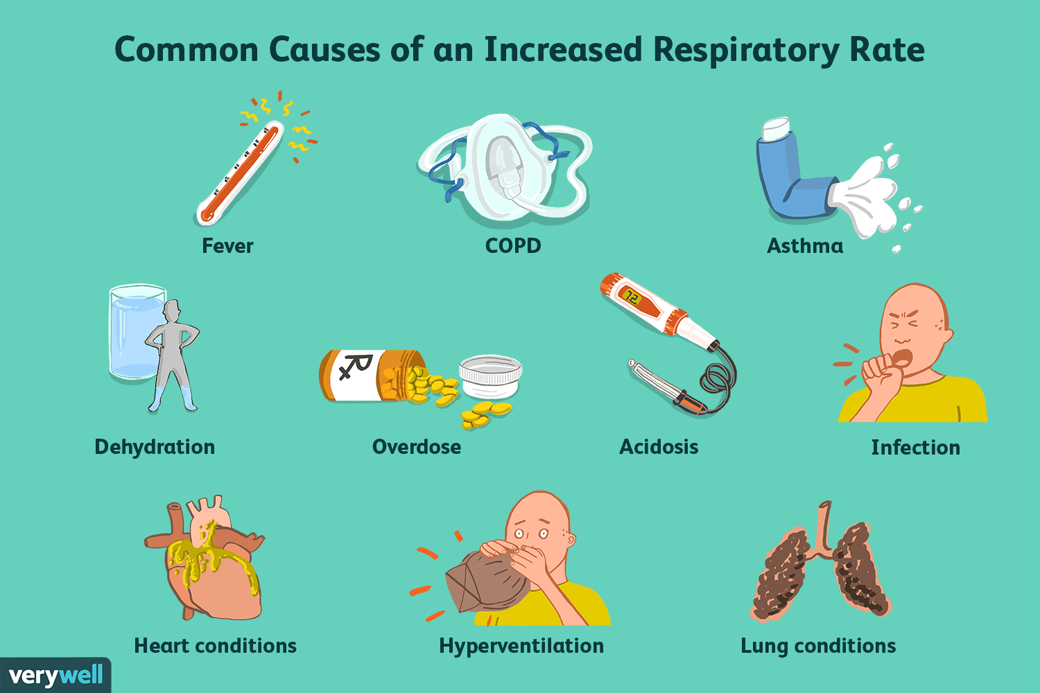 Normal Respiratory Rates In Adults And Children