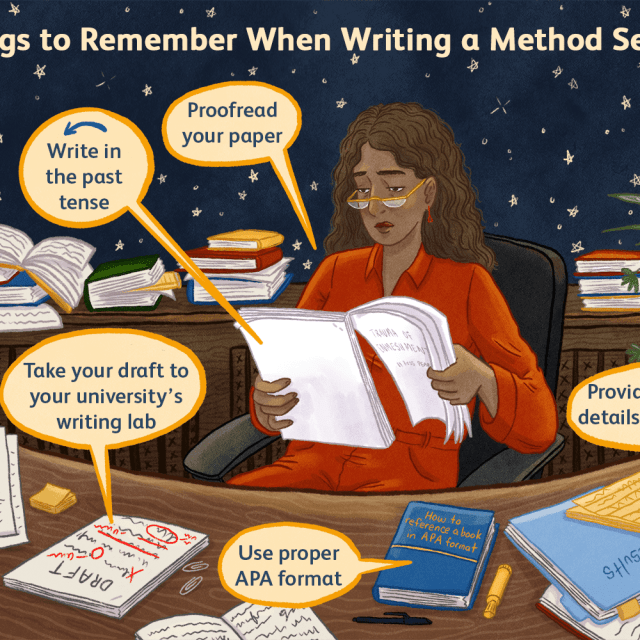 How to Write a Method Section of an APA Paper