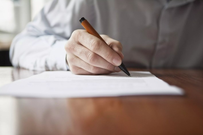 Writing with other hand