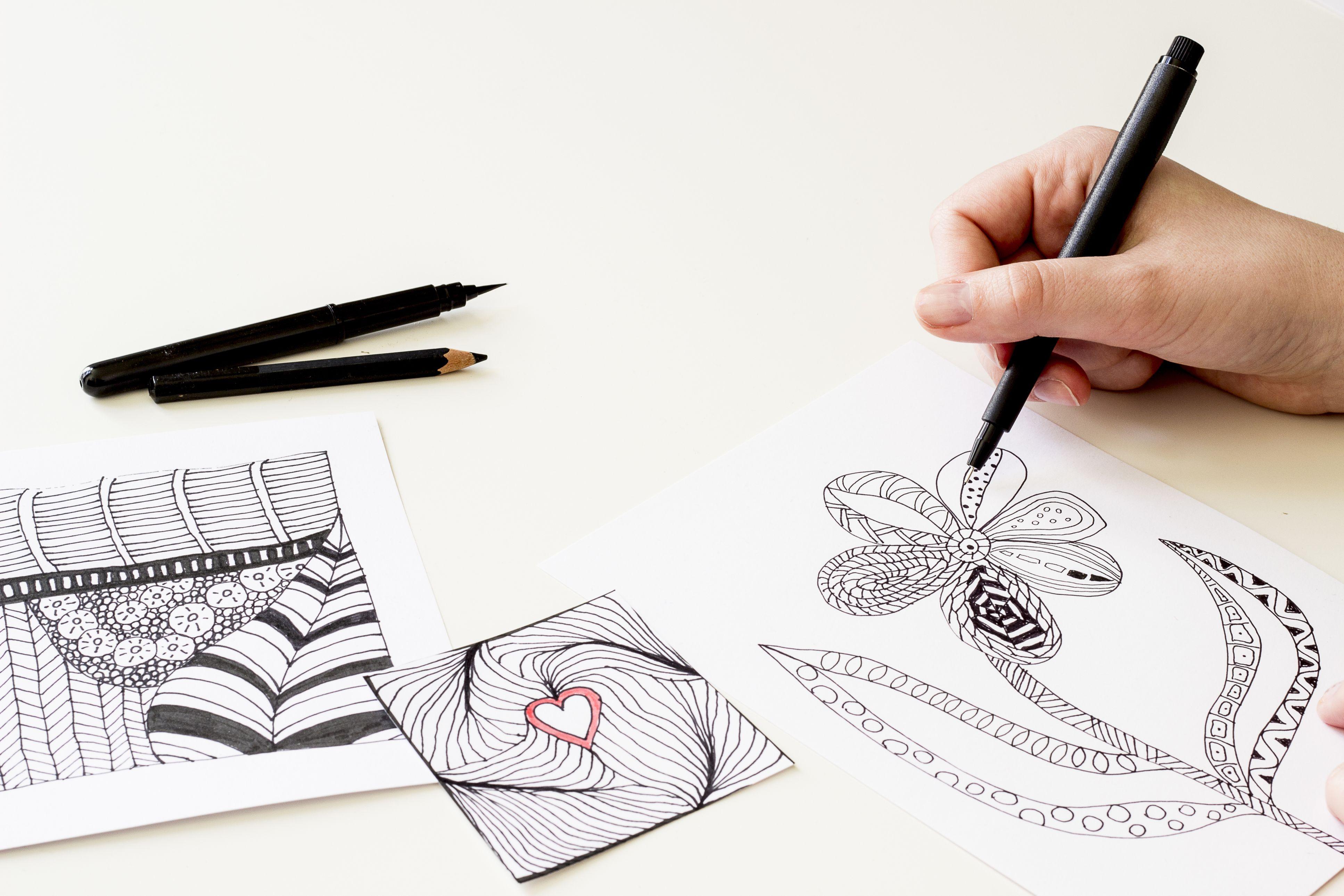 Art Activities For Stress Relief