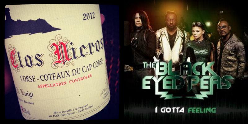 Accord vin musique - Clos Nicrosi Blanc - I gotta feeling – The Black Eyed Peas