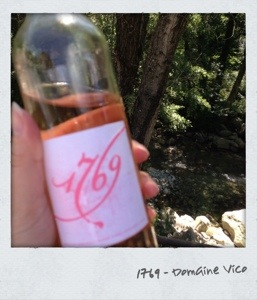 Rosé 1769 - domaine Vico - Corse
