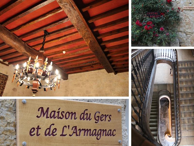 Détails Château de Mons Armagnac