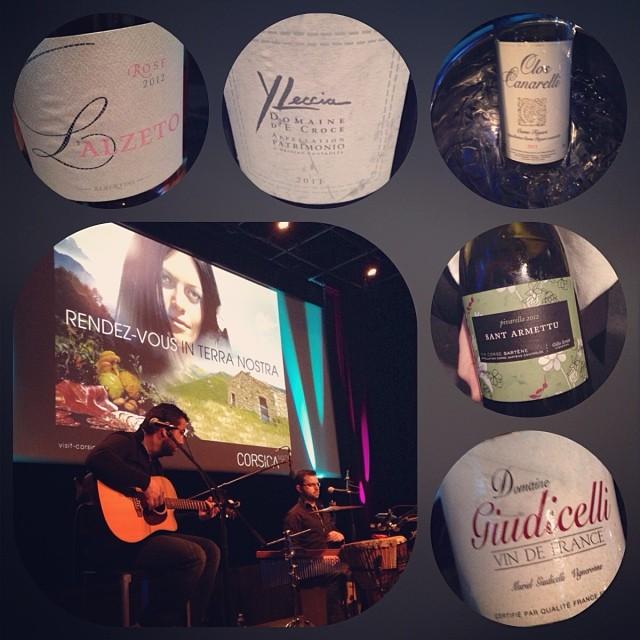 La Corse s'invite à Toulouse - Tasting Corsica Made - vins dégustés