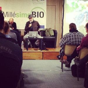 Michel Smith - Conférence sur le Carignan - Millésime Bio 2014