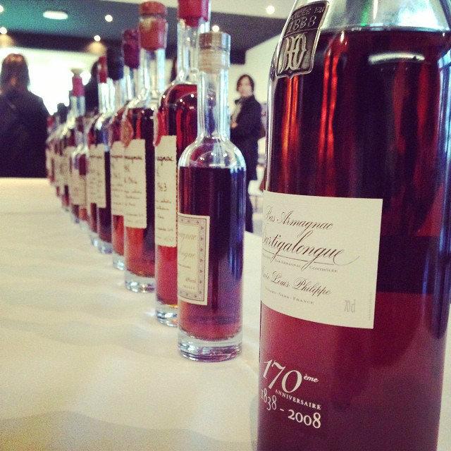 Degustation-armagnacs-Vinocamp Armagnac Gascogne 2015