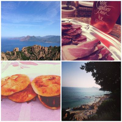 Montage photos Corse