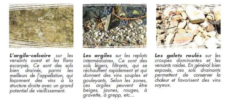 3 types de sol du vignoble de Madiran