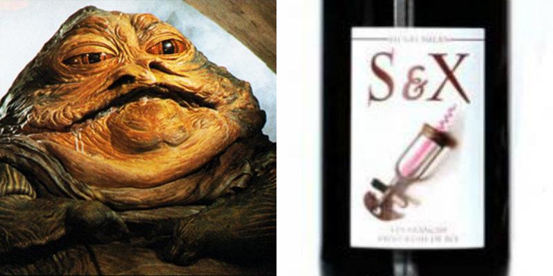 Accords vins et Star Wars - Jabba the Hutt - S&X Henri Milan