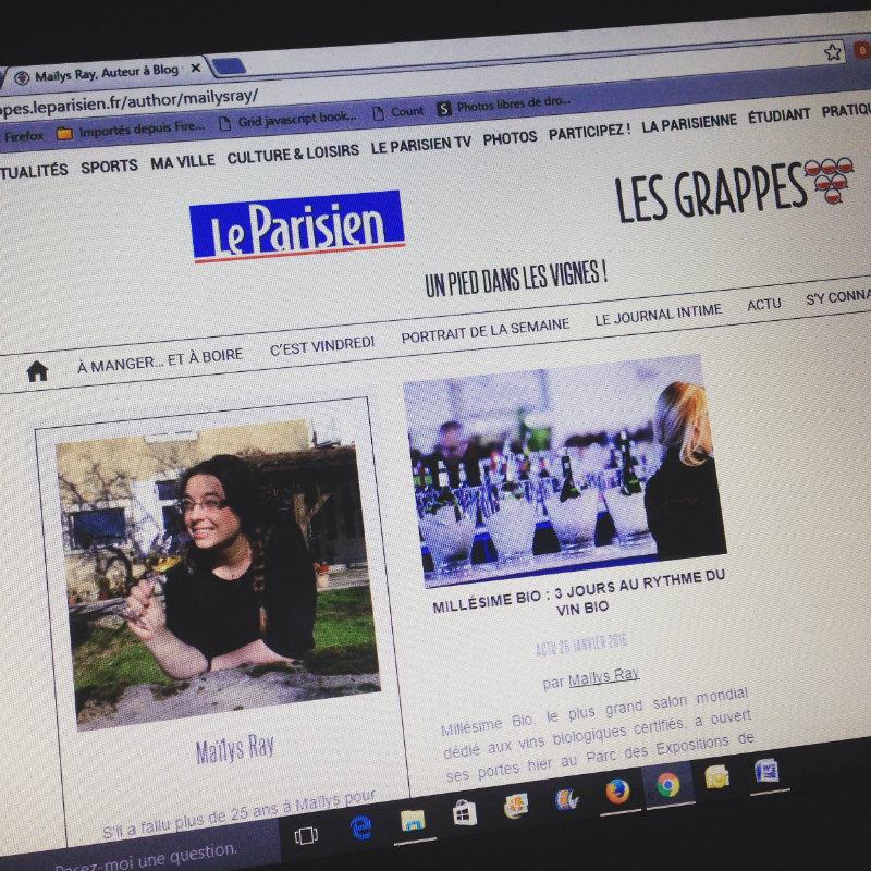 Collaboration Very Wine Trip - Les Grappes x Le Parisien