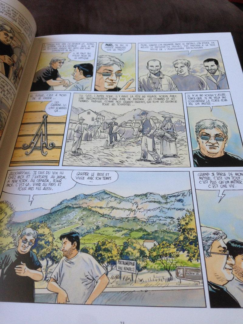 Extrait échanges avec Antoine Arena - La Corse à l'honneur dans Page Remerciements - Frères de Terroirs, carnet de croqueurs-2 Eté-Automne