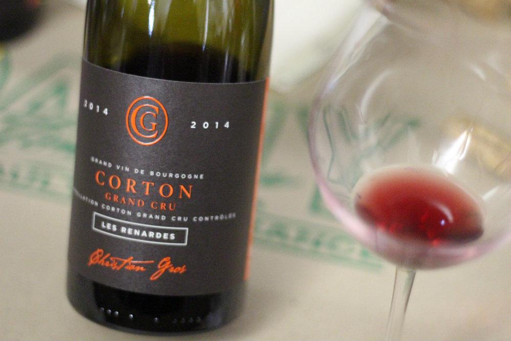 Corton Les Renardes - domaine Christian Gros - Grands Jours de Bourgogne 2016