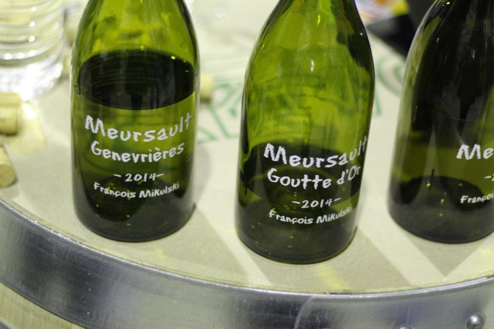 Vins du domaine François Mikulski - Meursault - Grands Jours de Bourgogne 2016