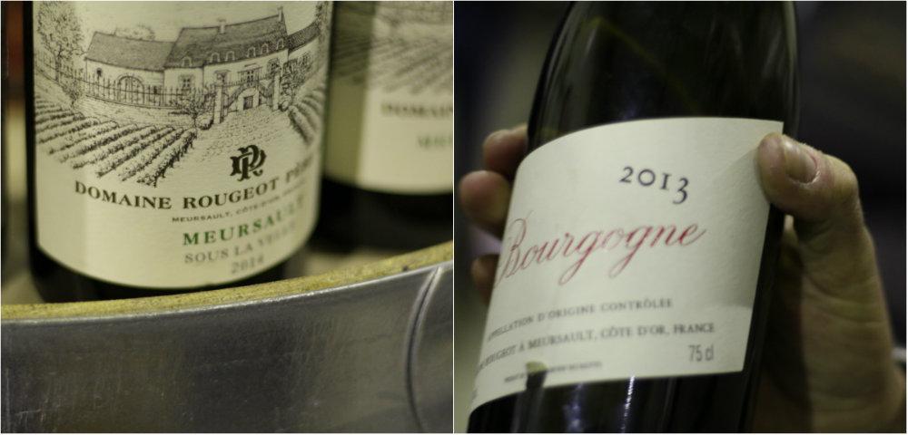 Vins du domaine Rougeot Père et Fils - Meursault - Grands Jours de Bourgogne 2016