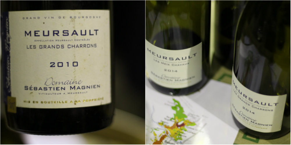Vins du domaine Sébastien Magnien - Meursault - Grands Jours de Bourgogne 2016
