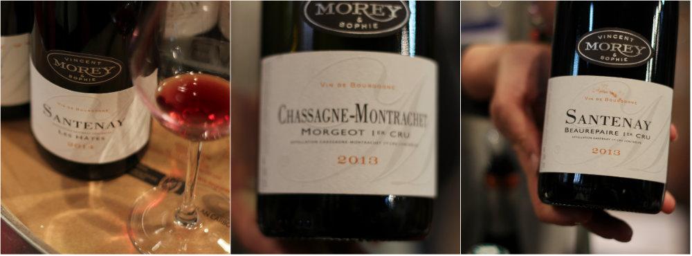 Vins du domaine Vincent et Sophie Morey - Grands Jours de Bourgogne 2016