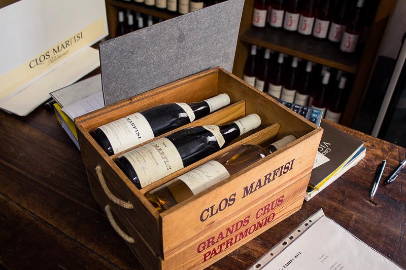 Coffret vins Clos Marfisi