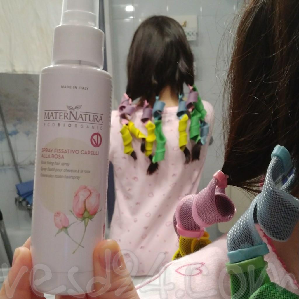 Quando Usare Il Fissativo spray fissativo per capelli alla rosa di maternatura   il