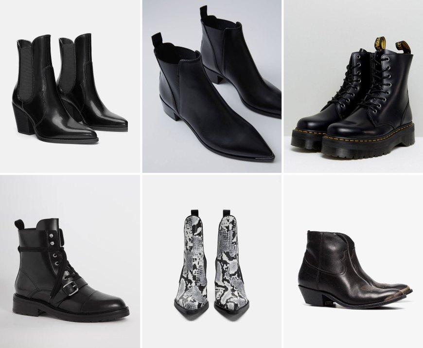 0a1598eb 1.Zara – here / 2. Acne – here / 3. Dr. Martens – here / 4. AllSaints –  here / 5. Zara – here / 6. Golden Goose – here