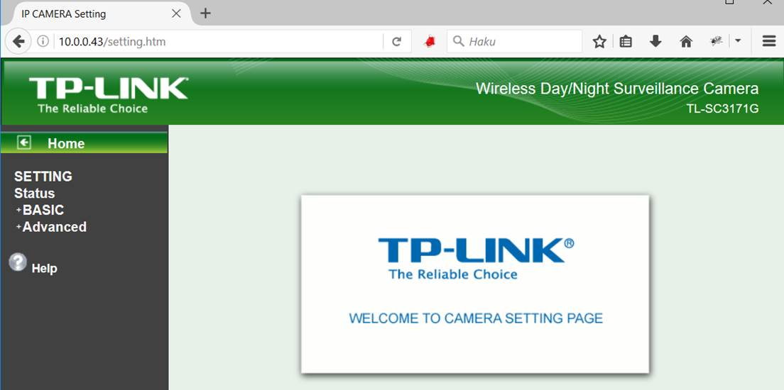 TP-Link TL-SC3171G IP-camera r00t – ROT Information Security