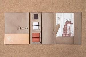 Fanny & Alexander needlepoint kit Fox